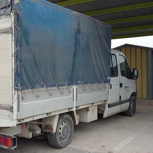 furgones pavimentos lario