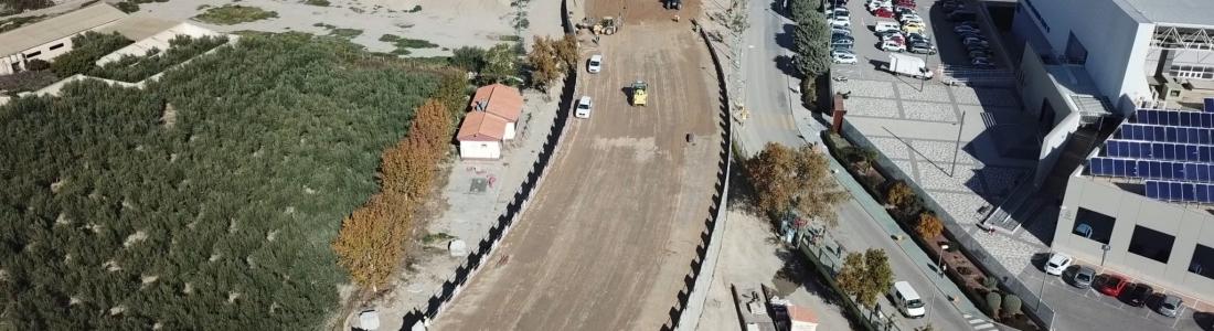 Nuevo vial de comunicación a ambos márgenes del río Guadalentín